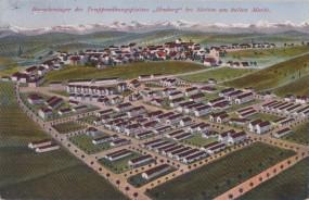 Barackenlager des Truppenübungsplatz Heuberg bei Stetten am kalten Markt 1915