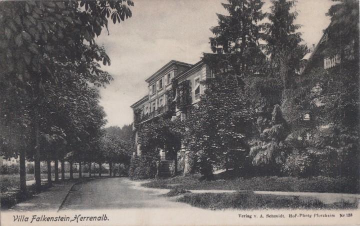 Villa Falkenstein herrenalb villa falkenstein 1907 plz 7506 plz 75 plz 7
