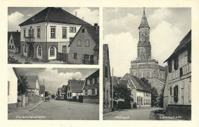 Mörsch - Rathaus, Karlsruherstraße, Lammstraße