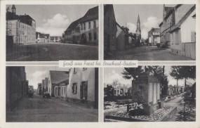 Forst bei Bruchsal-Baden 1950