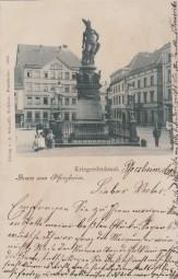 Pforzheim - Kriegerdenkmal 1900