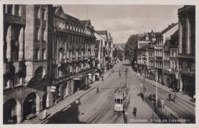 Pforzheim - Partie am Leopoldplatz 1939