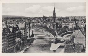 Pforzheim - die Pforte des Schwarzwaldes Weltplatz für Schmück - Zusammenfluß v. Enz. u. Nagold