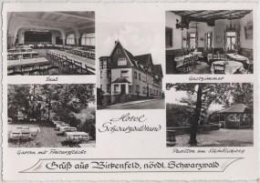 Birkenfeld - nördl. Schwarzwald - Hotel Schwarzwaldrand 1956