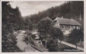 Forsthaus Rombach - Post Enzklösterle, bei Wildbad im Schwarzwald