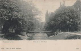 Baden-Baden - Partie an der Oos