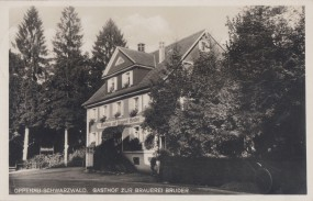 Oppenau - Schwarzwald - Gasthof zur Brauerei Bruder 1933