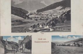 Hammereisenbach - Total - Straßenpartie - Mittlere Dorfansicht