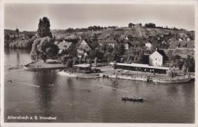 Allensbach a. B. - Strandbad 1953