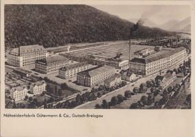 Gutach-Breisgau - Nähseidenfabrik Gütermann & Co. 1940