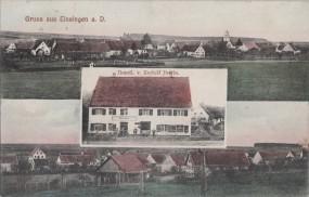 Einsingen a. D. - Handl. v. Rudolf Iberle 1911