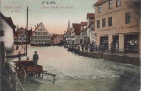 Heidenheim a. Br. - Obere Stadt mit Wedel 1906