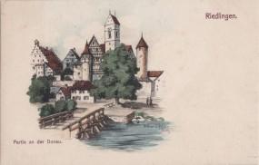 Riedlingen - Partie an der Donau