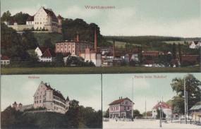 Warthausen - Schloss - Partie beim Bahnhof