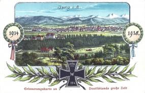 Isny i. A. - 1914-1918 Erinnerungskarte an Deutschlands große Zeit