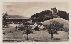 Schloß Waldburg - Oberschwaben 1940