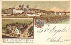 Weingarten - Ansicht von Bad Schöneck aus