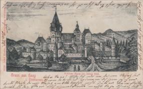 Haag - i. Oberbayern - Schloss Haag im Jahre 1644