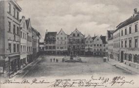 Weilheim - Hauptplatz 1950