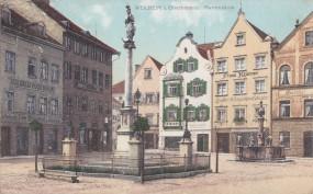 Weilheim i. Oberbayern - Mariensäule