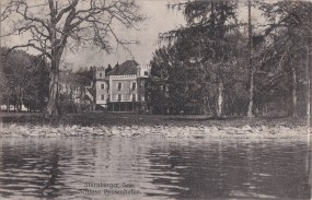 Starnberger See Schloss Possenhofen 1912