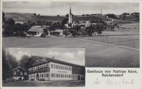 Reichersdorf - Gasthaus von Mathias Rank 1936