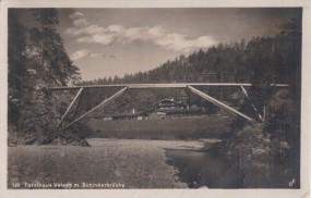 Forsthaus Valepp m. Schinderbrücke 1927