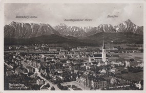 Freilassing - Salzburghofen - Untersbeg - Berchtesgadener Berge - Staufen 1942