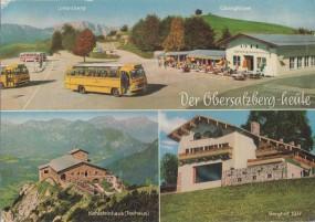 Der alte und neue Obersalzberg über Berchtesgaden 1976