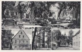 Erlangen - Gast- u. Kurhaus zum alten Rathsberg v. Konrad Eckstein - Aussichtsturm - Schloß