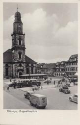 Erlangen - Hugenottenplatz 1954