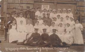 Reservelaß. Schloss - Erlangen - Kriegsjahr 1914