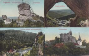 Fränkische Schweiz - Adlerstein - Quakenschloss - Sommerfrische Schottermühle - Wichenstein