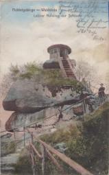 Fichtelgebirge - Waldstein - Letzter Aufstieg zur Schüssel 1912
