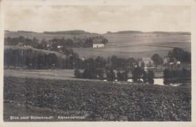 Alexandersbad - Blick nach Sichersreuth 1937