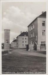 Schweinfurt a. M. - Kaserne an der Franz Schubertstraße 1940