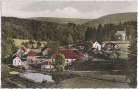 Einsiedel i. Spessart - Post Hafenlohr a. Main - Gasthaus u. Pension