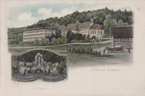 Krumbad - Lourdesgrotte 1906