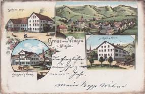 Kempten im Allgäu - Kath. Kirche und Residenz