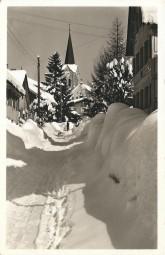 Wintersportplatz Oberstaufen i. Allgäu - Schloßstraße