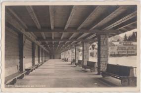 Oberstdorf im bayr. Allgäu - Wandelhalle am Kurplatz 1941