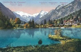 Christles-See bei Oberstdorf - Fürschiesser 2271m, Kratzer 2425m, Trettachspitze 2595m, Spätengundko