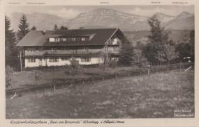 Scheidegg im Allgäu - Kindererholungsheim - Haus am Bergwald