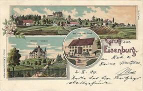 Eisenburg - Gasthaus zum Hirsch, Schloss Eisenburg