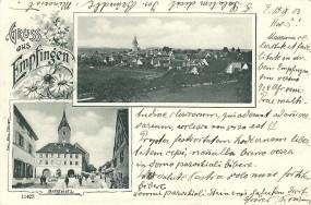 Empfingen - Marktplatz