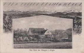 Bad Briel bei Wangen i. Allgäu 1913