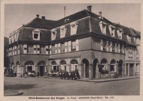 Munster (Haut-Rhin) - Hotel-Restaurant des Vosges