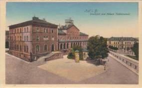 Hof i.B. Stadtpost und höhere Töchterschule