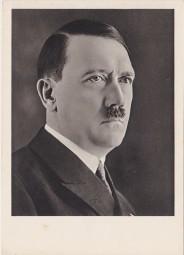 Hitler Porträt- Fotokarte