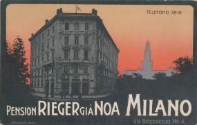 Milano - Pension Rieger Gia Noa